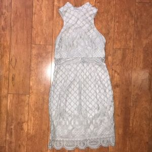 Dresses & Skirts - Gray Lace Dress